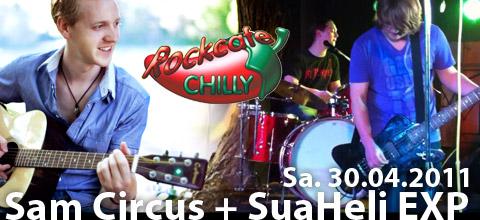 Sam Circus und SuaHeliEXP im Chilly Mainburg