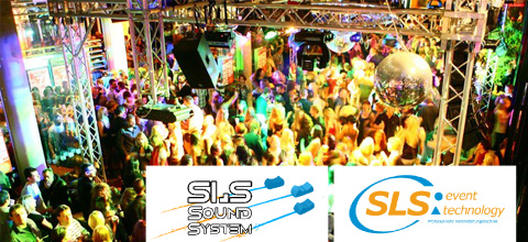 SLS Sound System und SLS Event Technology