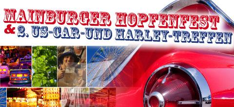 Mainburger Hopfenfest und 2. US-Car-und Harley-Treffen