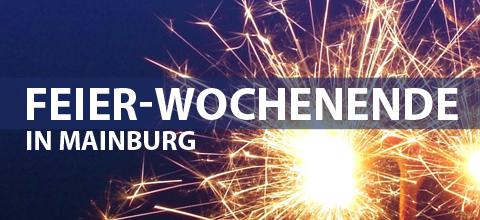 Feier-Wochenende in Mainburg