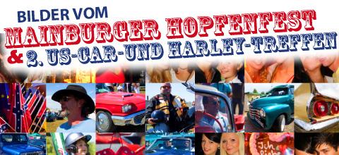 Mainburger Hopfenfest und 2. US-Car- und Harleytreffen