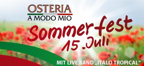 Osteria Sommerfest