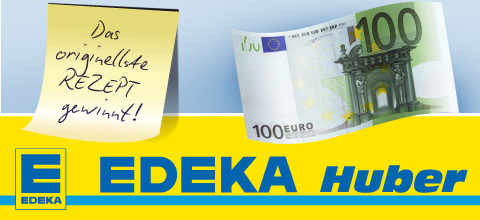 100 Euro Einkaufsgutschein - Edeka Huber Mainburg