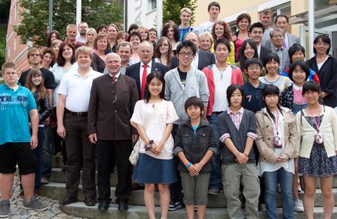 Schüleraustausch mit Japan