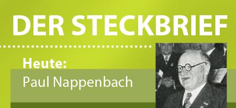 FRANNS Steckbrief: Paul Nappenbach