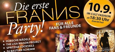 Erste FRANNS-Party