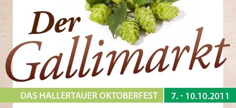 Der Gallimarkt Mainburg 2011 - das Hallertauer Oktoberfest
