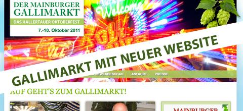 Neue Gallimarkt-Website für Mainburg