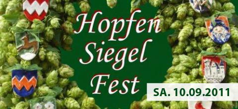 1. Hopfensiegelfest Mainburg 2011