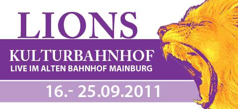 Lions Kulturbahnhof Mainburg 2011