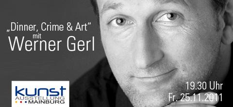 31. Kunstausstellung Mainburg Werner Gerl