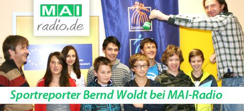 Gastdozent bei Mai-Radio in Mainburg