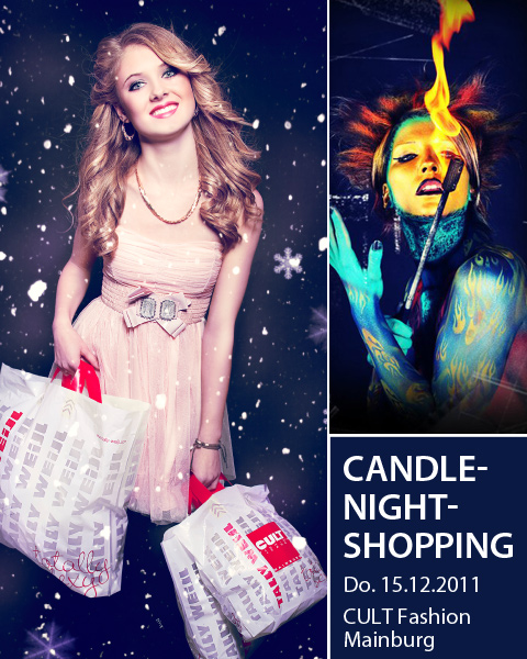 CULT Fashion Candle-Night-Shopping 2011