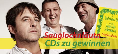 Sauglocknläutn CD zu gewinnen