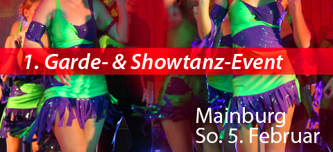 1. Garde- & Showtanzevent Mainburg 2012