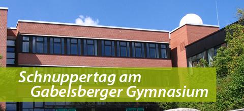 Schnuppertag am Gabelsberger Gymnasium Mainburg