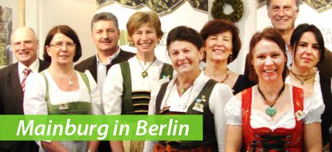 Mainburg auf der Grünen Woche in Berlin