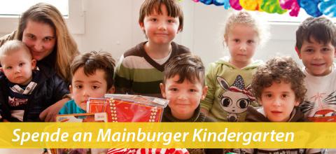 Mainburger Club Twister spendet an Kindergarten