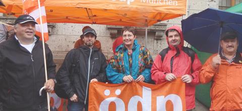 ÖDP Mainburg gegen CETA und TTIP aktiv