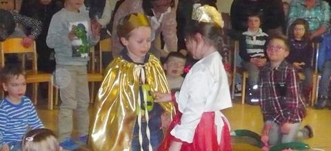 Märchenfest im Kindergarten am Gabis