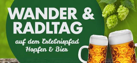 Wander & Radltag Erlebnispfad Hopfen & Bier 2017