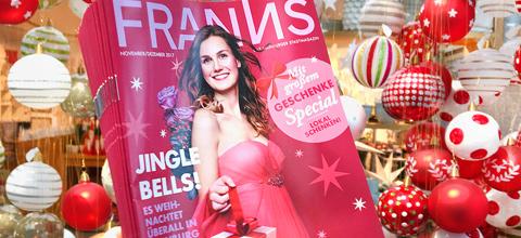 Die FRANNS Weihnachtsausgabe 2017 ist da!