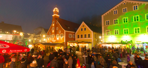 Endlich: Mainburger Christkindlmarkt 2017