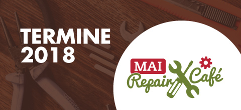 Termine 2018 fürs Mai Repair Café