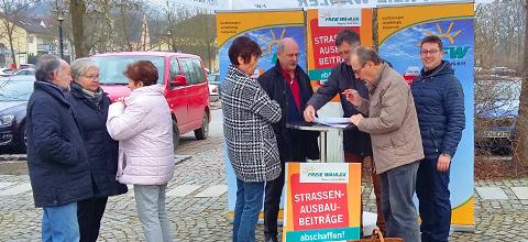 Freie Wähler Mainburg gegen STRABS