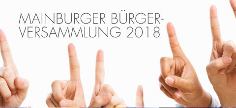 Mainburger Bürgerversammlung 2018