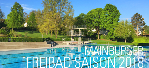 Mainburger Freibad-Saison 2018