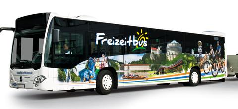 Freizeitbusse im Landkreis Kelheim 2018