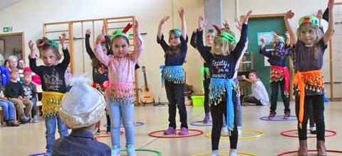 Zwei Familien-Musikfeste im Städtischen Kindergarten