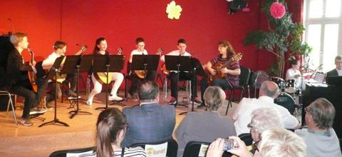 Frühlingskonzert 2018 in der Städt. Sing und Musikschule Mainburg