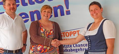 Mainburgerin als ÖDP Landtags-Kandidatinnen