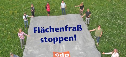Gemeinsame Aktion der ÖDP Mainburg und Landshut