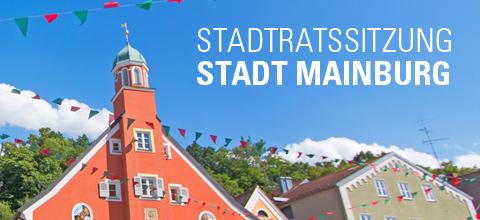 7. Mainburg Stadtratssitzung 2018