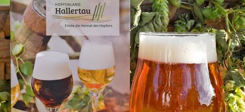"""Neue Broschüre """"Hopfen und Bier erleben im Hopfenland Hallertau"""""""
