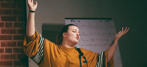 Poetry-Slam mit Teresa Reichl bei Literaturtagen